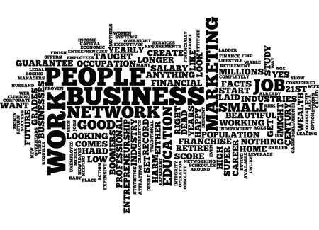 ENTREPRENEURSHIP THE SUPER CAREER OF THE ST CENTURY Text Background Word Cloud Concept