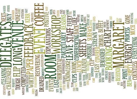 EVENT ETIQUETTE Text Hintergrund Word Cloud-Konzept Standard-Bild - 82608182