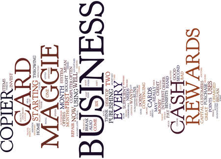 EVERY BUSINESS NEEDS REWARDS Text Background Word Cloud Concept Illustration