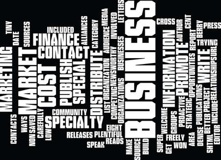 include: EIGHT NO COST WAYS TO MARKET YOUR BUSINESS Text Background Word Cloud Concept