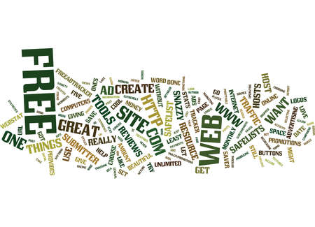 FIVE FREE TOOLS TO HELP MAKE YOUR BUSINESS GROW Text Background Word Cloud Concept