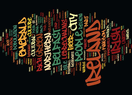 inscribed: EMERALD IRELAND Text Background Word Cloud Concept