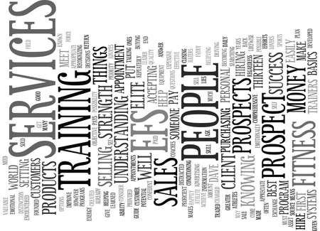 ELITE FITNESS Text Background Word Cloud Concept 向量圖像