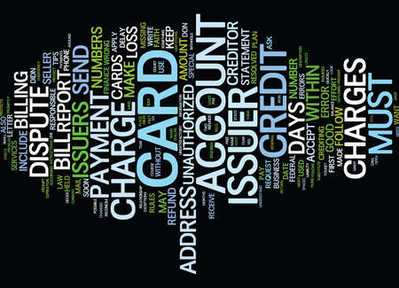 EVER RECEIVE A CREDIT CARD IN THE MAIL Text Background Word Cloud Concept