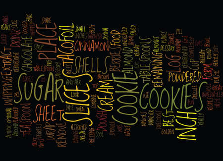 BEST RECIPES TACO COOKIES Text Background Word Cloud Concept