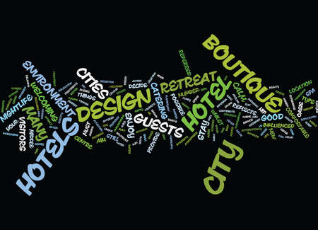 FIND THE PERFECT CITY RETREAT Text Background Word Cloud Concept