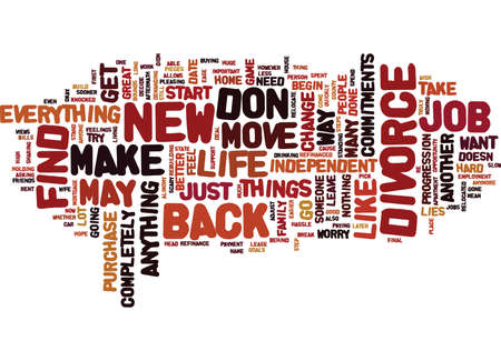 FIND A NEW JOB AND MOVE ON Text Background Word Cloud Concept
