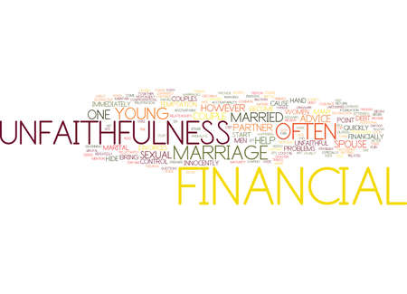 prepare: FINANCIAL ADVICE FOR YOUNG MARRIED COUPLES Text Background Word Cloud Concept