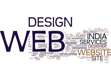 EXCELLENT ALTERNATIVE FOR WEB DEVELOPMENT Text Background Word Cloud Concept