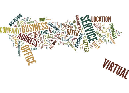 answering: ENTREPRENEURS GO VIRTUAL Text Background Word Cloud Concept