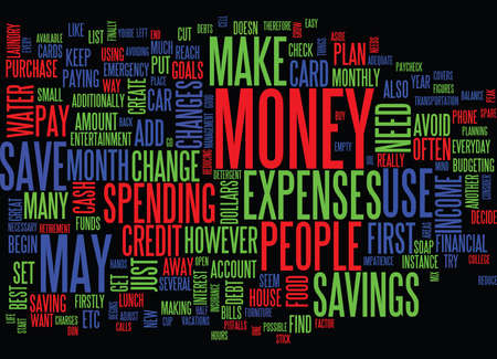 FINANCE YOUR CAR WITH POOR CREDIT Text Background Word Cloud Concept Ilustração