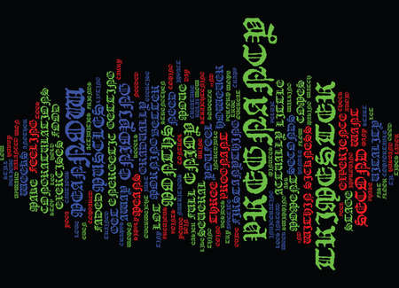 ENJOY YOUR ND TRIMESTER Text Background Word Cloud Concept
