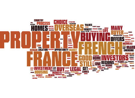 FRENCH HOMES WHY BUY THEM Text Background Word Cloud Concept