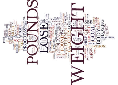 FREE TIPS TO HELP YOU LOSE POUNDS Text Background Word Cloud Concept