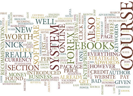 FOREX ENTERPRISE A FULL REVIEW Text Background Word Cloud Concept