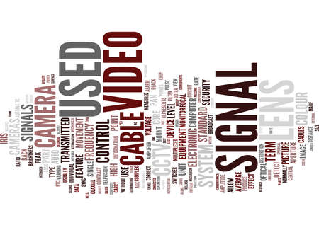 GLOSSARY OF TERMS A C CCTV Text Background Word Cloud Concept