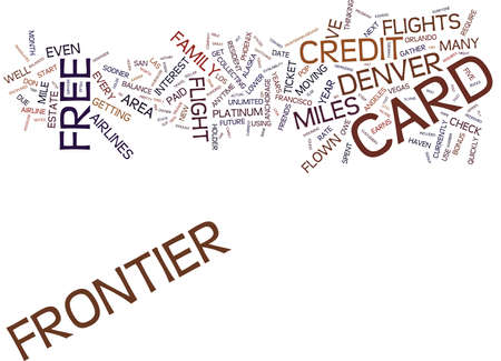 FLY TO DENVER FOR FIVE BUCKS Text Background Word Cloud Concept Illustration