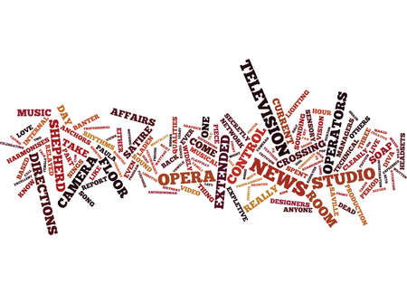FROM OPERA TO SOAP OPERA Text Background Word Cloud Concept