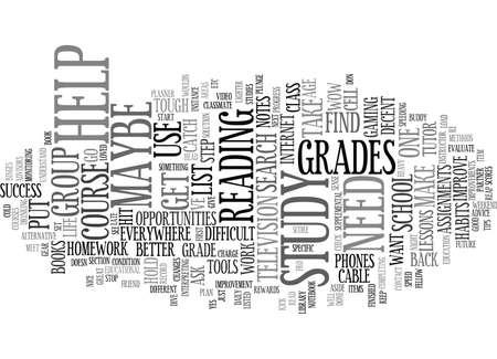 GOOD STUDY HABITS REAP REWARDS Text Background Word Cloud Concept