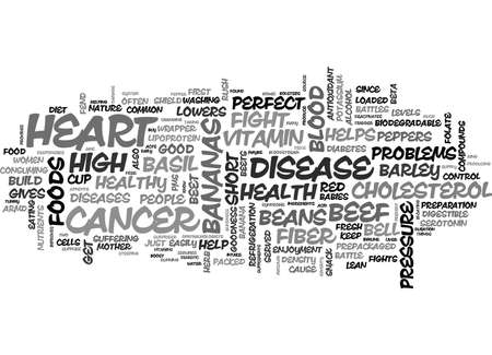FOODS THAT FIGHT HEALTH PROBLEMS PART II Text Background Word Cloud Concept