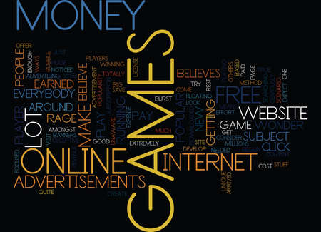 FREE ONLINE GAMES WILL THE BUBBLE BURST Text Background Word Cloud Concept