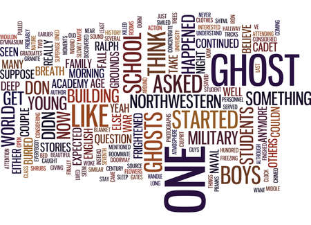 GHOST STORIES Text Background Word Cloud Concept Ilustrace