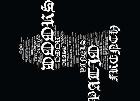 FRANS PATIO DOORS Tekst Achtergrond Word Cloud Concept