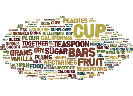 FRUIT PHYTO BARS Text Background Word Cloud Concept