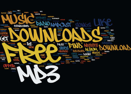 FREE MP DOWNLOADS Text Background Word Cloud Concept