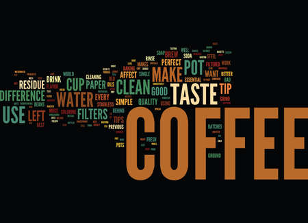 GOOD TO THE LAST DROP Text Background Word Cloud Concept