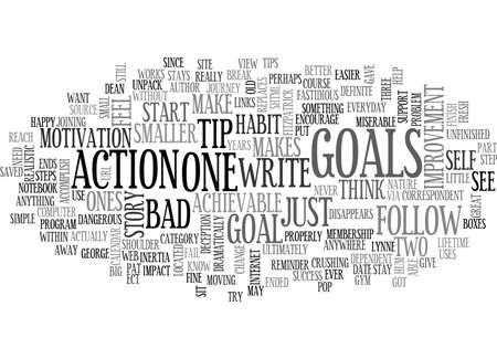 GOT GOALS DID YOU REACH THEM Text Background Word Cloud Concept