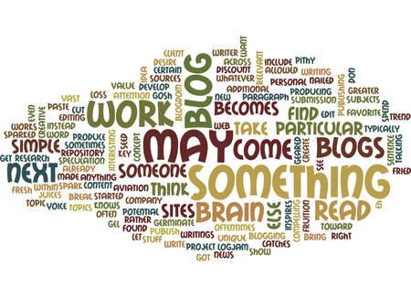 FROM BLOG TO ARTICLE Text Background Word Cloud Concept Çizim