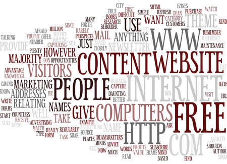 GIVE PEOPLE WHAT THEY WANT AND WATCH YOUR PROFITS SOAR Text Background Word Cloud Concept