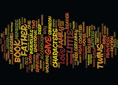 GIVE A LITTLE BOOK REVIEW Text Background Word Cloud Concept