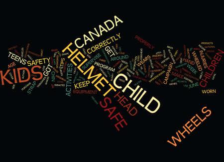 GOT WHEELS GET A HELMET Text Background Word Cloud Concept Illustration