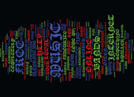 FREE LEGAL MUSIC ONLINE Text Background Word Cloud Concept Stok Fotoğraf - 82610386