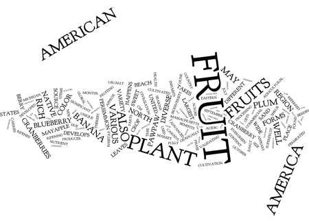 果物をテキスト背景単語の雲概念は米国で四季折々 の