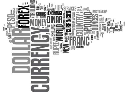 FOREX Text Background Word Cloud Concept