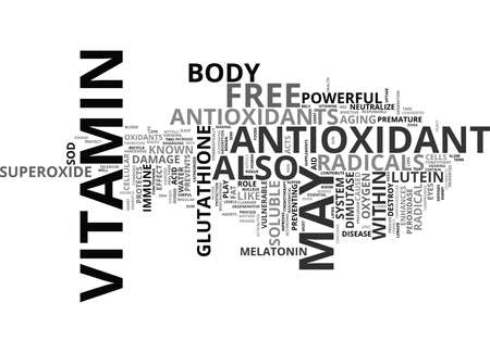 FREE RADICALS THE ENEMY WITHIN Text Background Word Cloud Concept