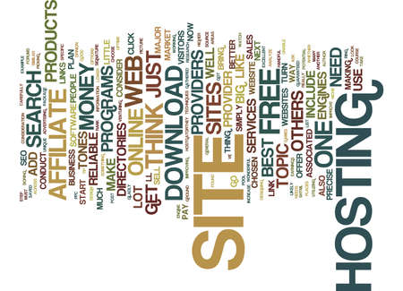 GET YOUR SITE UP ONLINE AND MAKE MONEY WITH IT Text Background Word Cloud Concept