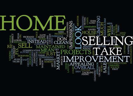 テキスト背景単語クラウド コンセプトを販売するあなたの家を準備します。  イラスト・ベクター素材