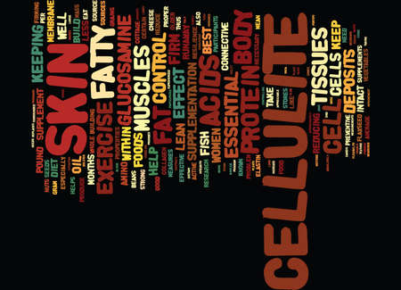 grain: FOODS AND SUPPLEMENTS THAT CONTROL CELLULITE Text Background Word Cloud Concept