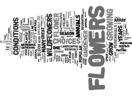 Blumen sind ein großes Geschenk Text Hintergrund Wort Wolken Konzept Standard-Bild - 82610677
