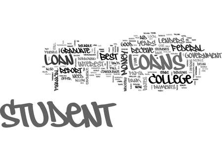 GOOD LORD THIS CANT BE THE BEST STUDENT LOAN FOR COLLEGE STUDENTS Text Background Word Cloud Concept
