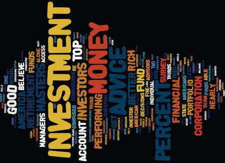 リッチ テキストの背景単語クラウドのコンセプトは良い投資アドバイス