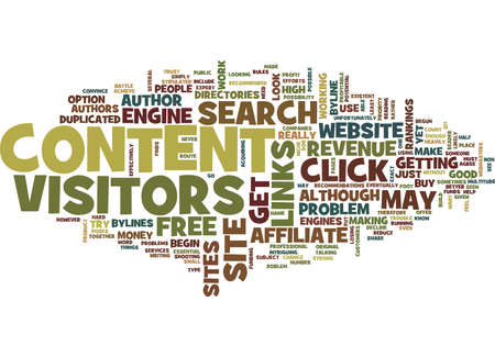 FREE ARTICLE CONTENT Text Background Word Cloud Concept