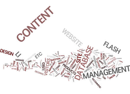 GOOD WEB DESIGN WHAT IS IT Text Background Word Cloud Concept