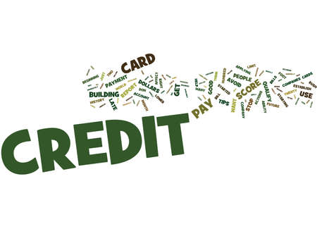 checking accounts: FOR PEOPLE WITH NO CREDIT TIPS ON HOW TO ESTABLISH IT Text Background Word Cloud Concept
