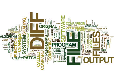 FREE FILE COMPARE Text Background Word Cloud Concept Illustration