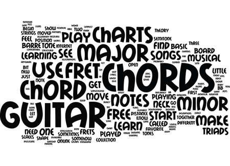 無料ギター弦グラフ テキスト背景単語雲概念